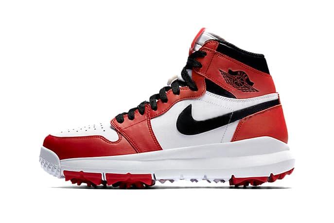 Air Jordan 1 Chicago Golfing Sneaker