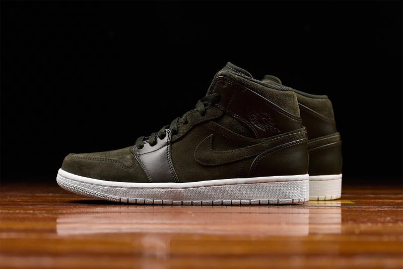 Air Jordan 1 Mid Sequoia UNDFTD UNDEFEATED