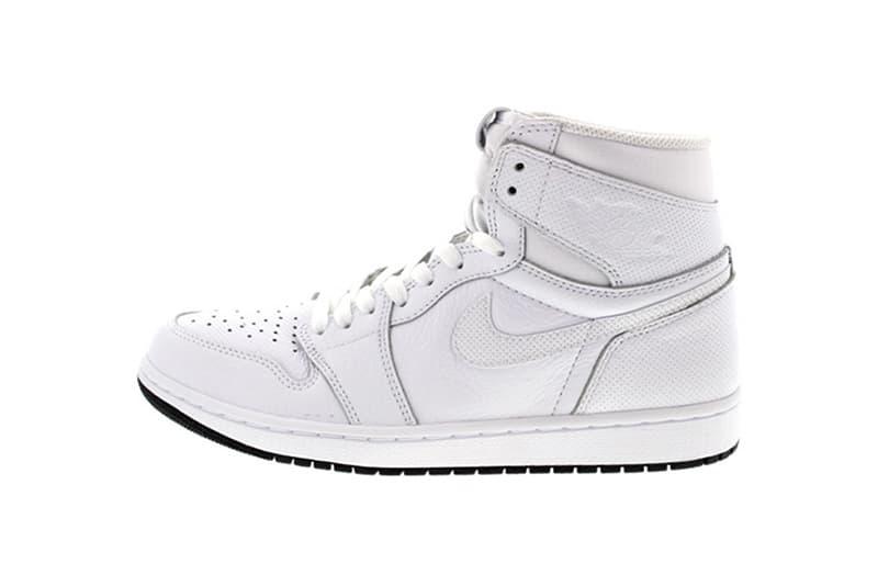 Air Jordan 1 Retro High OG Perforated White