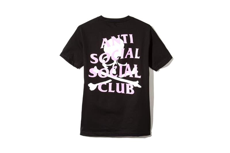 Anti Social Social Club mastermind JAPAN black pink white