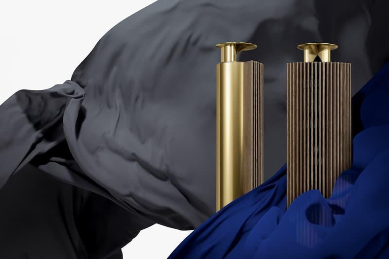 Bang Olufsen Cool Modern Brass TV Speakers Soundbar Audio Systems