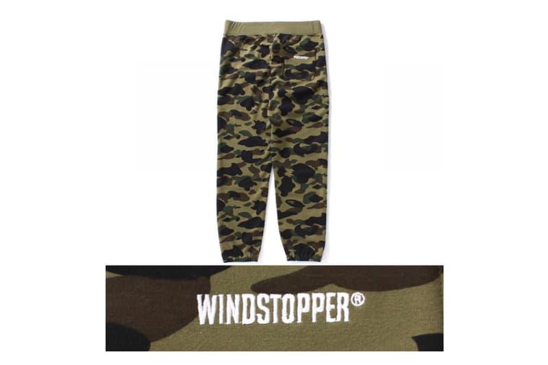 BAPE Camo Windstopper Hoodie