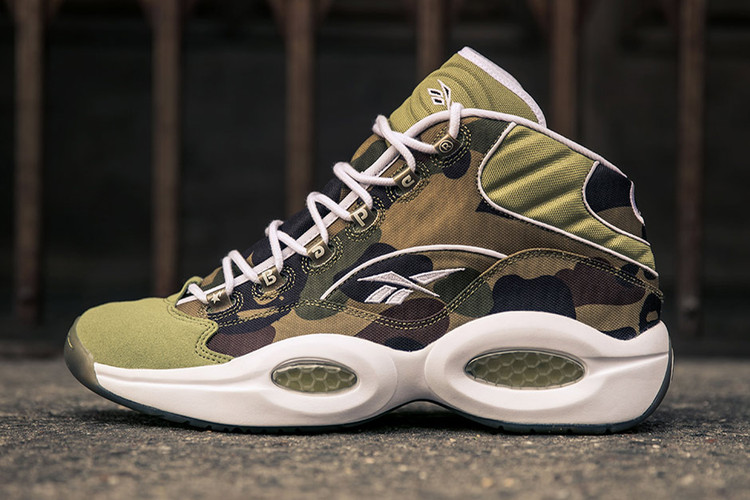 577323009c0f84 BAPE and mita sneakers  Limited Edition Reebok Question Mid Gets an  Official Release Date