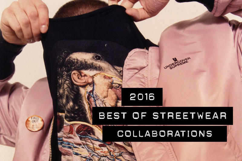 Best Streetwear Fashion Collaborations 2016