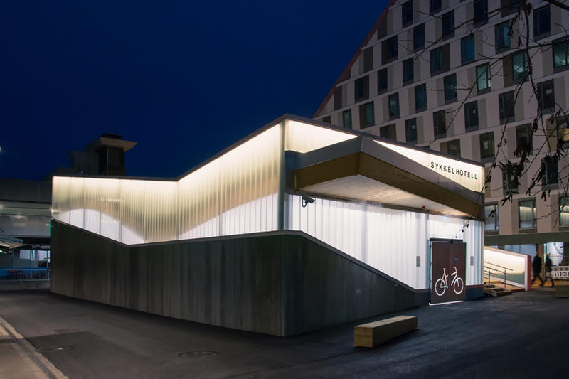 Lillestrøm Bicycle Hotel Exteriors and Interior
