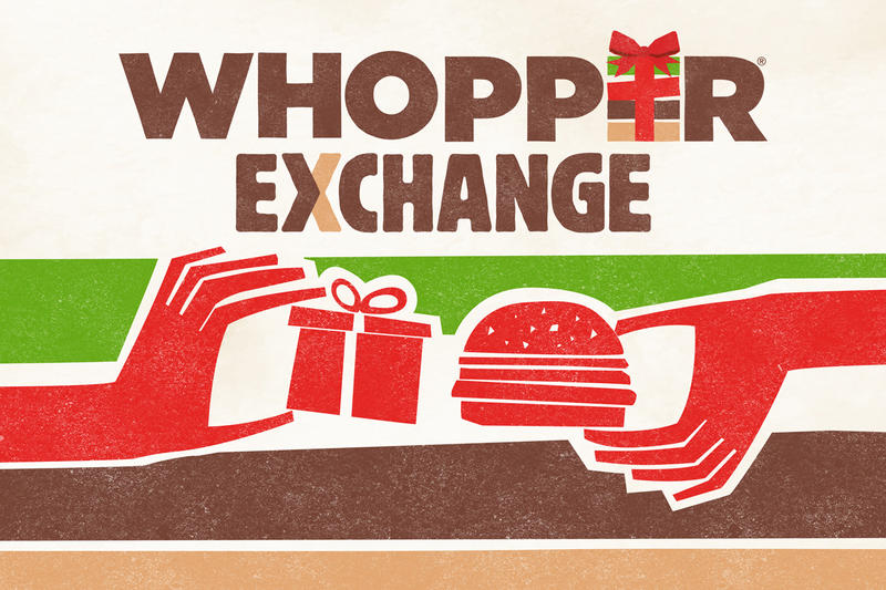 Burger King Whopper Crappy Christmas Gift Exchange