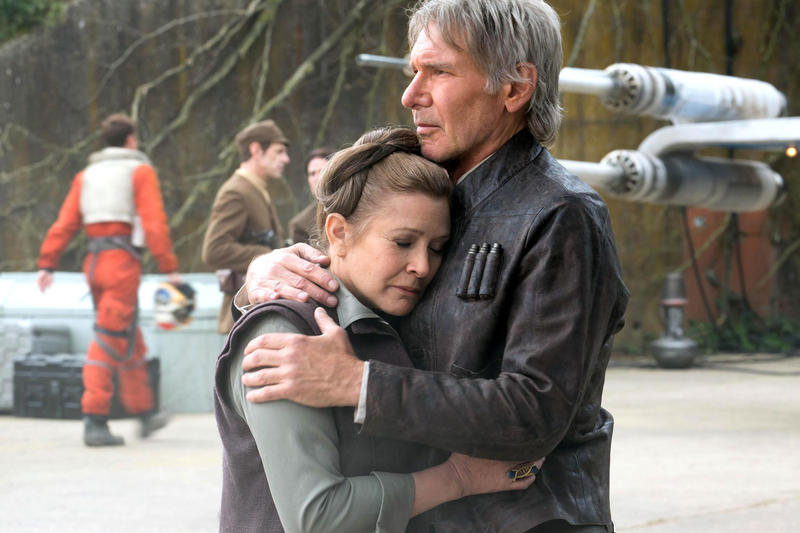 Carrie Fisher Princess Leia Harrison Ford Han Solo