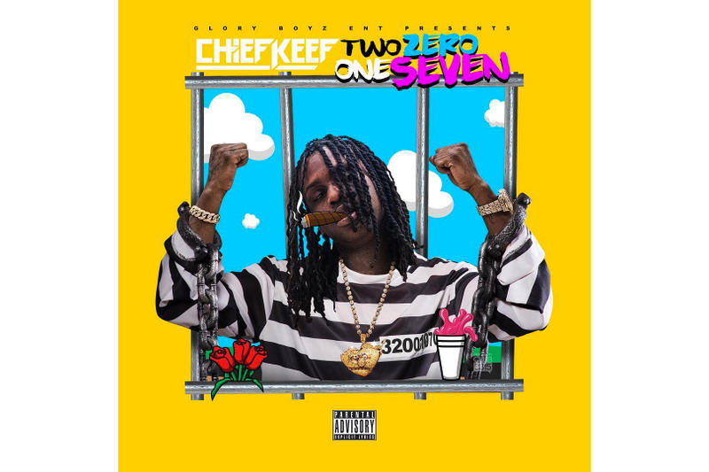 Chief Keef 'Two Zero One Seven' Album