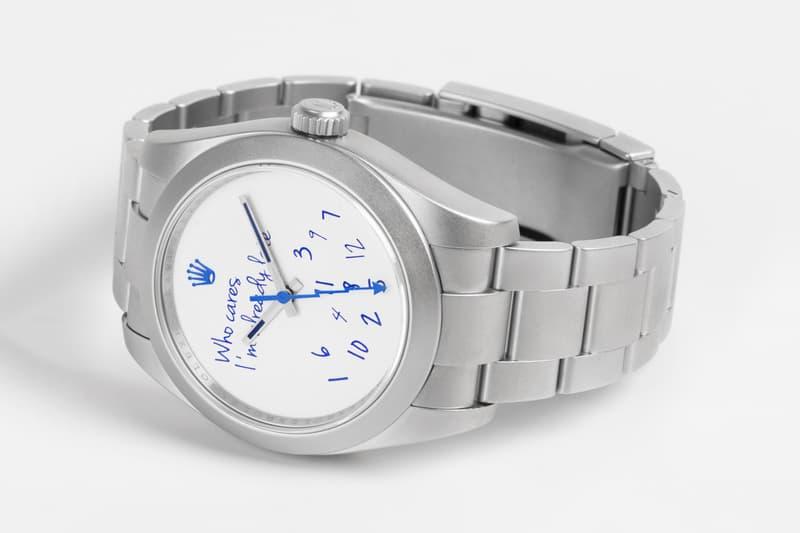 colette Mad Paris Rolex Milgauss Watch Who Cares Edition