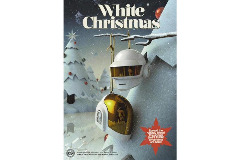 Daft Punk Christmas Candles Snow Globes Ornaments