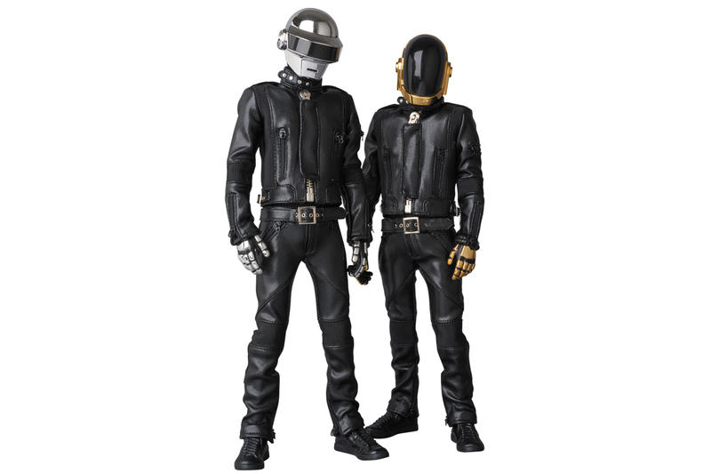 Medicom Toy x Daft Punk Human After All Figures