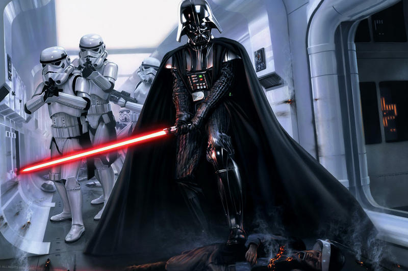 Darth Vader's 'Rogue One' Ending Gets a Nostalgic 16-Bit & LEGO-ized Rendition Videos Star Wars