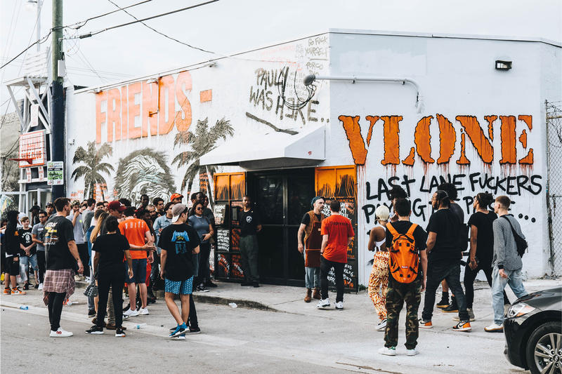 VLONE Pop Up Art Basel Miami ASAP Bari Nike Air Force 1 OFF-WHITE