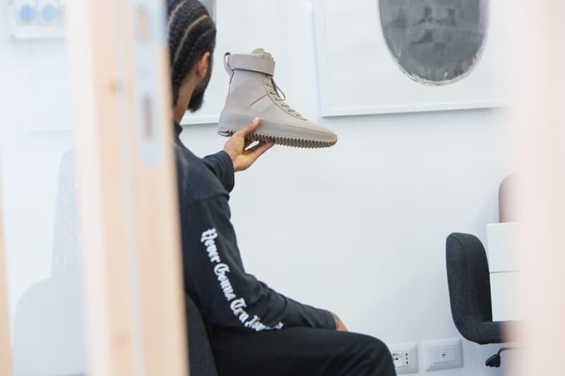 Jerry Lorenzo Fear of God Women Military Sneaker