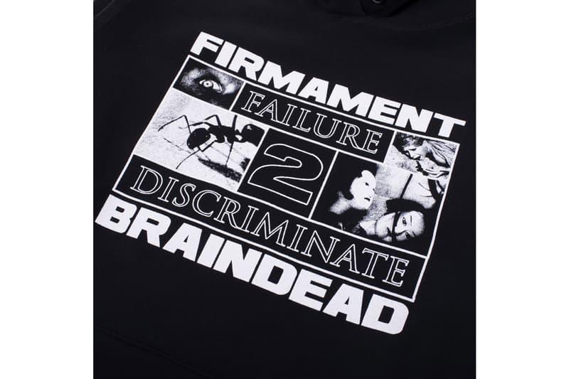 Firmament x Brain Dead Failure 2 Discriminate Hoodie