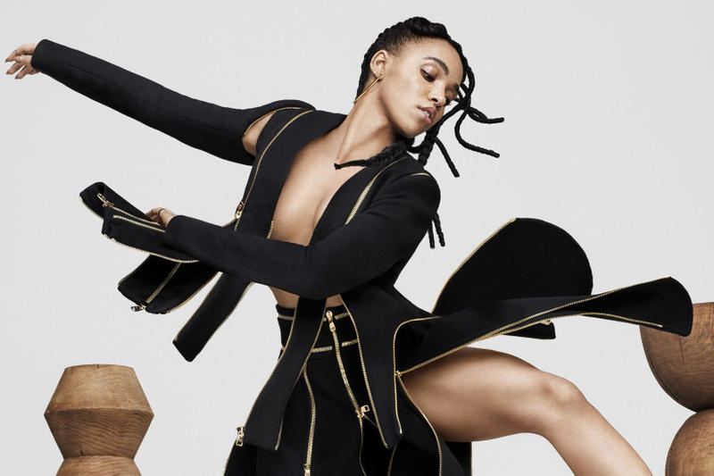 FKA twigs Online Archive dancing poses
