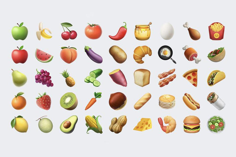 Avocado Bacon Paella Croissant Emoji Apple Latest iPhone Update