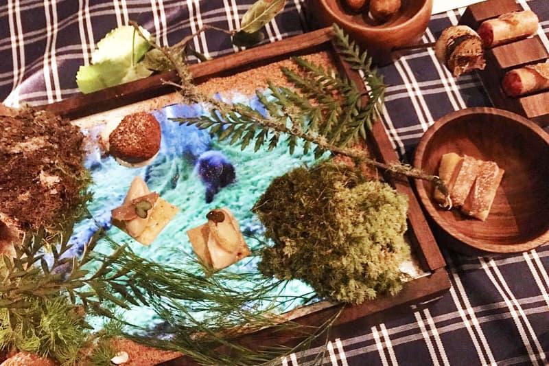 Michelin Star Restaurant Serves Food iPad