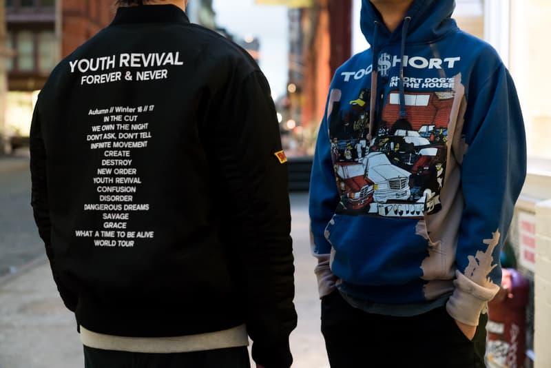 forever 21 camron guns n roses metallica thrasher too short bomber jacket ankle zip jeans