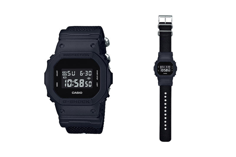 "Casio G-SHOCK ""Military Black"" Collection"