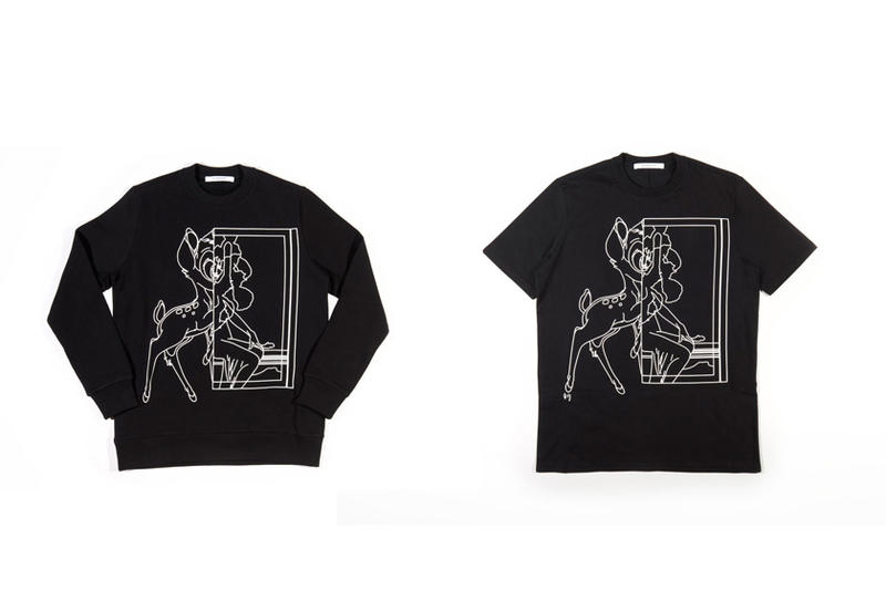 Givenchy Re-Releases the Bambi Print for Its 2017 Spring Collection Disney Clothes 2014 2015 Winter Collection