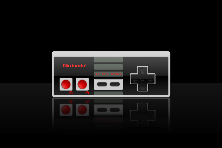 08e34277 The Goofy Foot NES Controller Is Specifically Made for Left-Handed Players