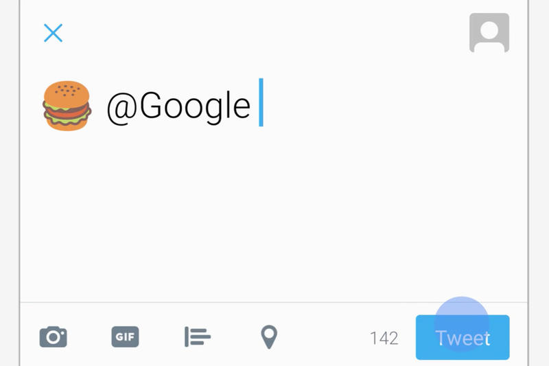 You Can Now Tweet Emojis to Google for Nearby Suggestions