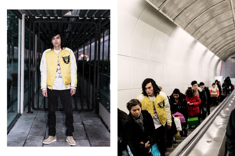 HAVEN HUMAN MADE Decade of Permanence Capsule T-shirt Reversible Yokosuka Jacket