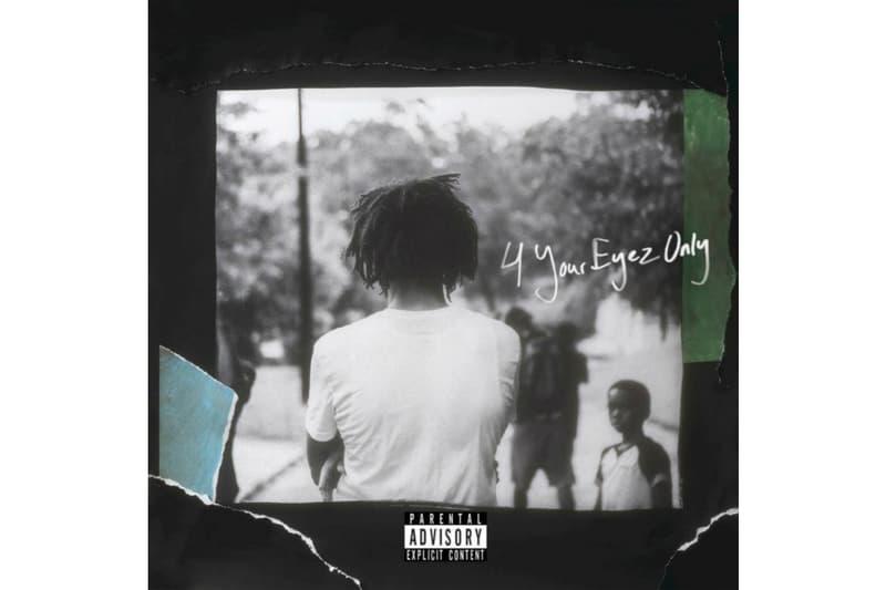 J Cole 4 Your Eyez Only Album