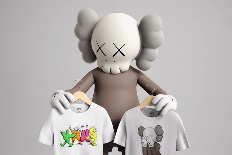 Kaws Companion Uniqlo T-shirts, Undercover and NIGO Collaborations