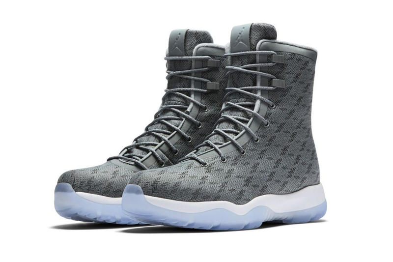 7030c8354cc9 Jordan Future Boot Cool Grey Colorway