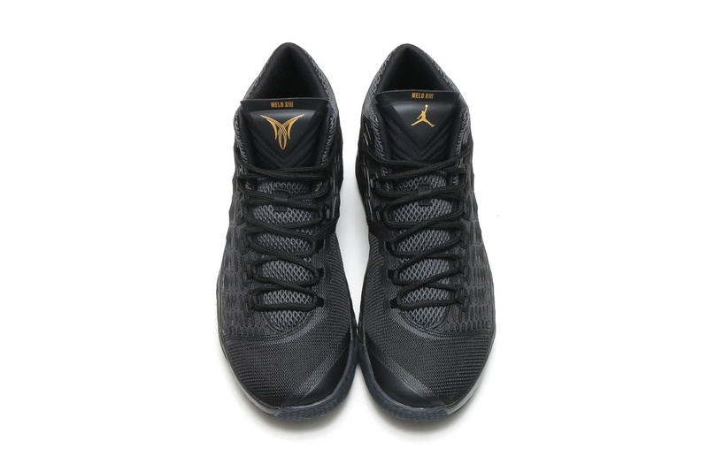 Carmelo Anthony Jordan Melo M13 Black Gold