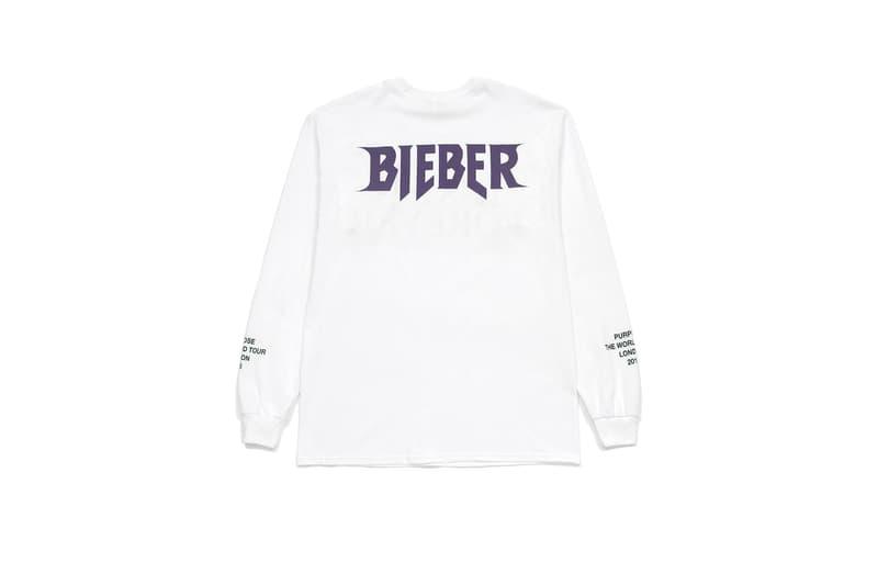 Justin Bieber Purpose Tour 2017 Spring/Summer Collection jb luxury line i.t