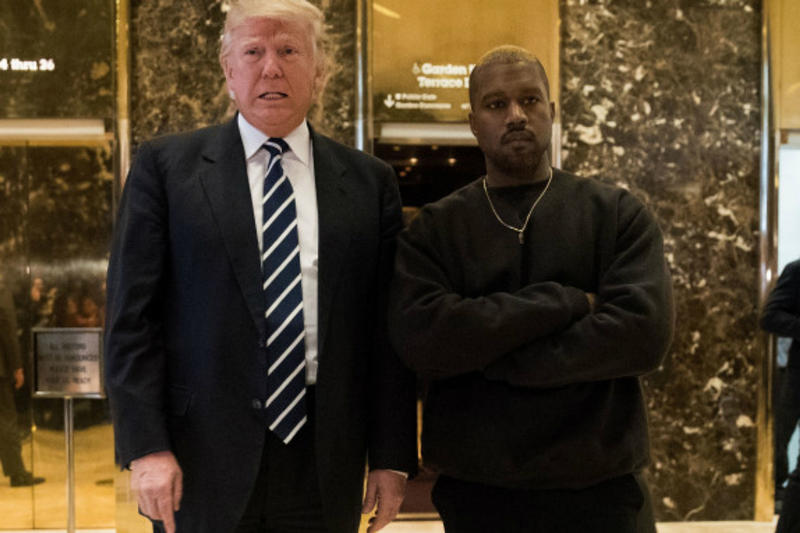 Kanye West Donald Trump Trump Tower Meeting
