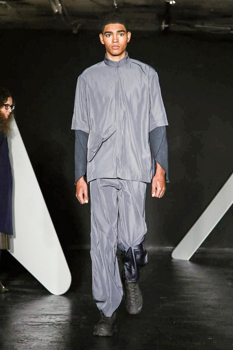 Kiko Kostadinov 2017 Fall/Winter Collection Runway Show London Fashion Week Men's