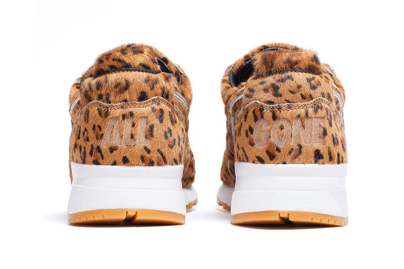 "La MJC and Diadora N.9000 ""All Gone"" 2011 Sneaker cheetah"