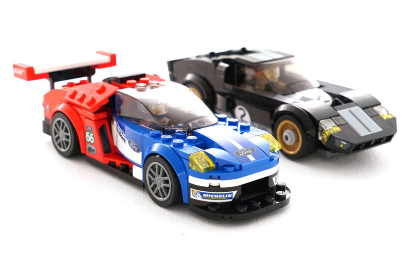 LEGO Ford GT40 Le Mans 24 And Ford GT40 Mark 2