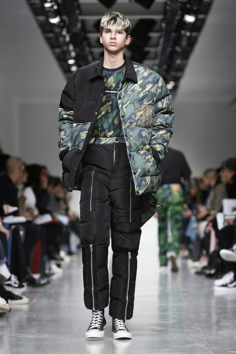 Liam Hodges 2017 Fall/Winter Collection Runway London Fashion Week Men's