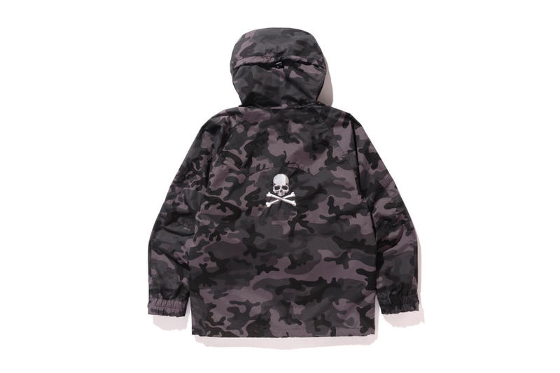 mastermind JAPAN BAPE Collaboration black grey camo