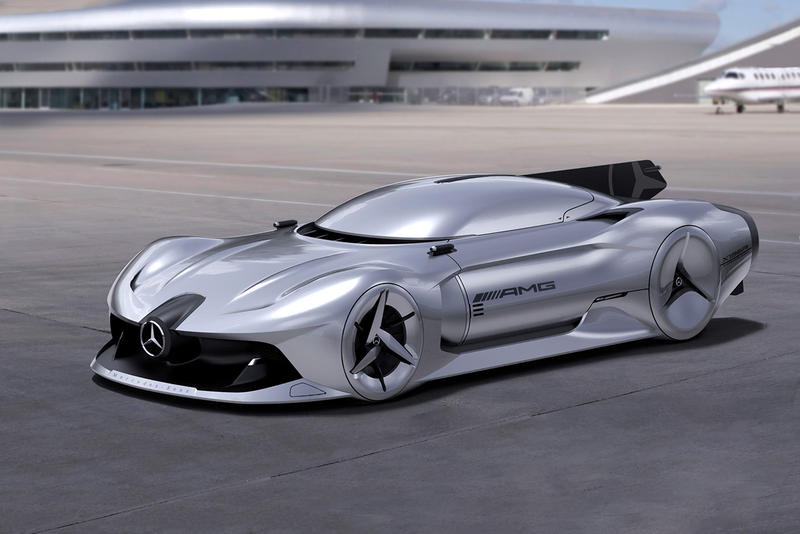 The Mercedes-Benz Futuristic Streamliner Jet-Fueled Concept Is All of Our Dreams