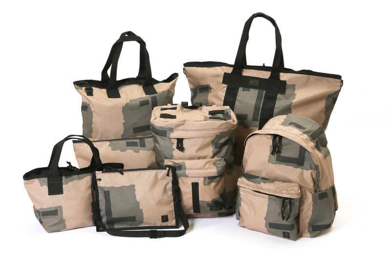 NEXUSVII M.I.S T-Pattern Camouflage Accessories Capsule Collection