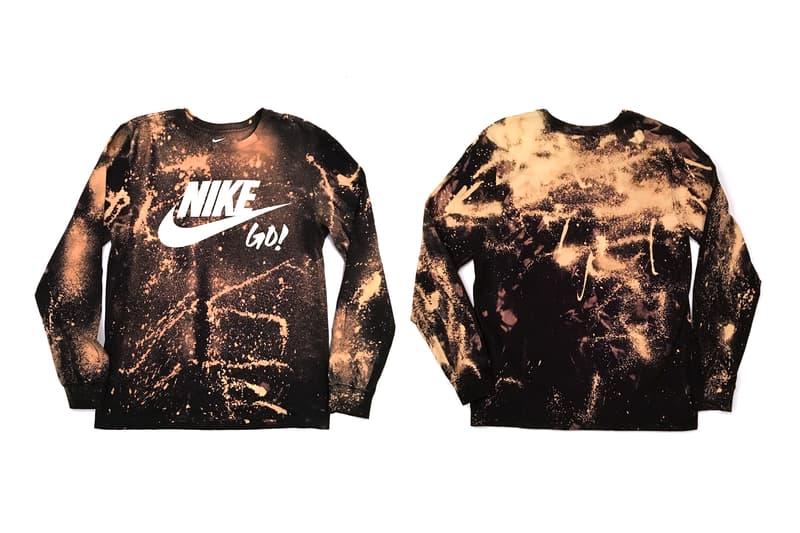Nigel Sylvester Limited Bleached Nike Go Shirts Tokyo