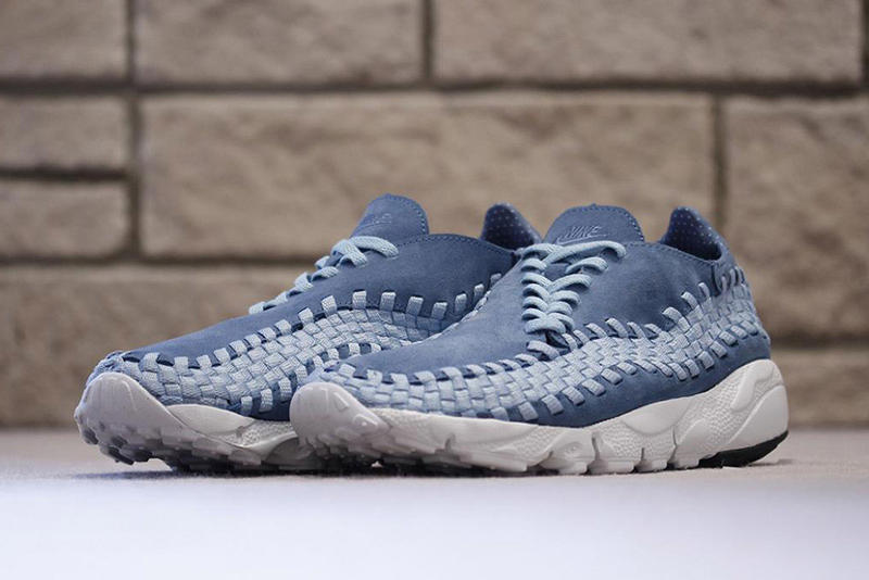 Smoky Blue Nike Air Footscape Woven
