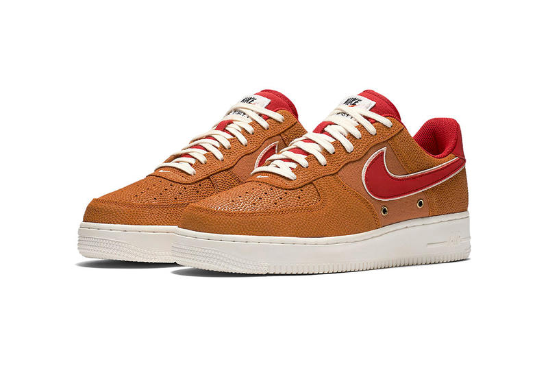 3aa0952486e Nike Air Force 1 Low Basketball Leather Tan Black