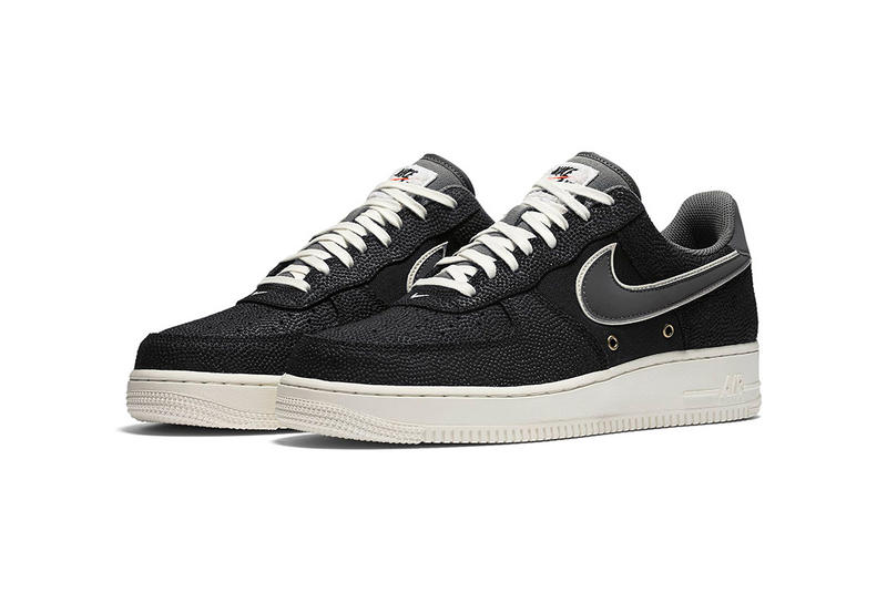 Nike Air Force 1 Low Basketball Leather Tan Black