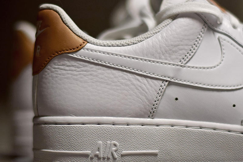Nike Air Force 1 Low LV8 White and Vachetta Tan