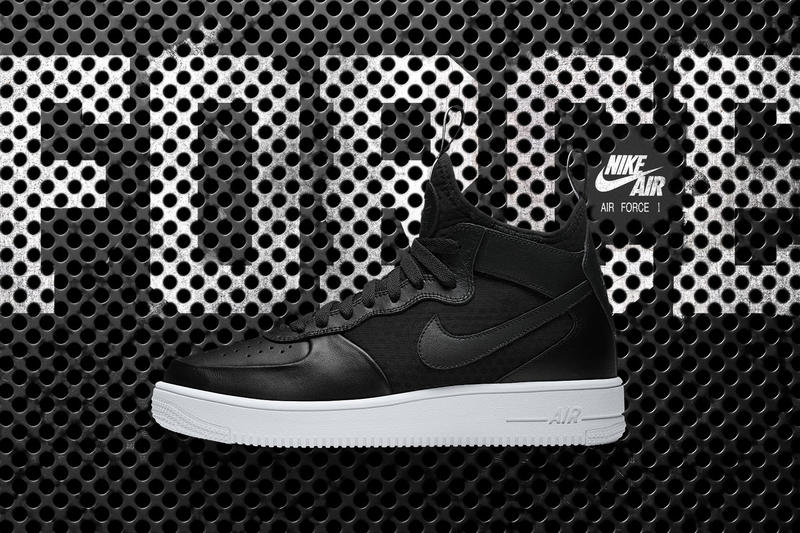 98032b23d87 Nike Air Force 1 Ultra Force Mid in Black