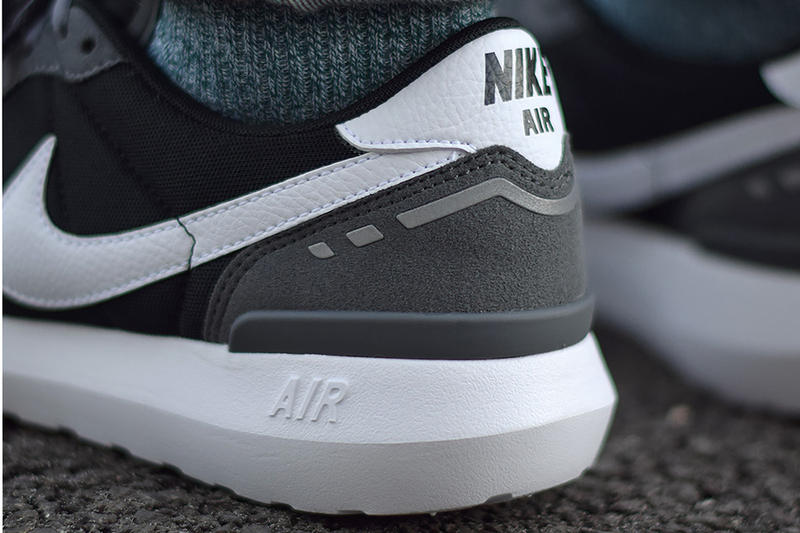 """The Nike Air Vortex '17 Takes Lessons from the '80s Swoosh Black Grey White """"Grey"""""""