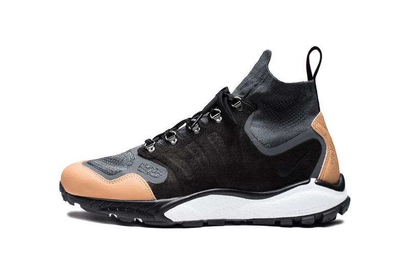 1a658446d9cf1 Nike Air Zoom Talaria Mid Flyknit Anthracite Black Vachetta Tan Dark Grey