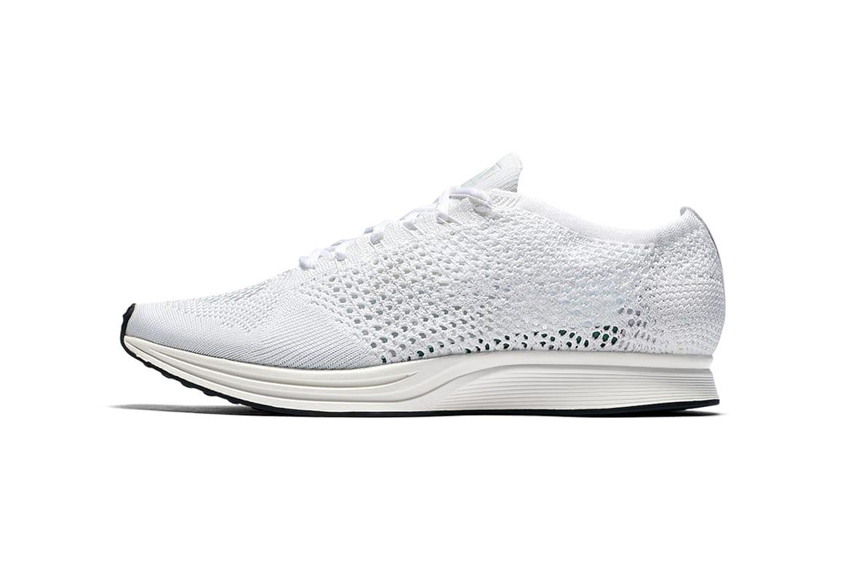 Nike Flyknit Racer in White | HYPEBEAST